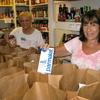 Volunteers working We Care Pantry
